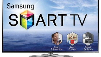 Samsung – 3D 40″ Class 1080P 120Hz LED Smart HDTV With Wi-Fi