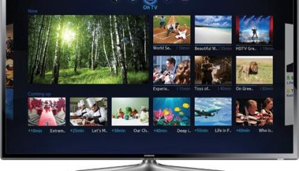 Samsung – 46″ Class 1080P LED Smart HDTV With Wi-Fi