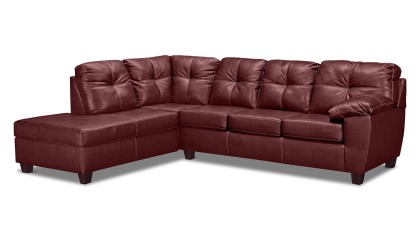 2 Pc. Sleeper Sectional with Chaise