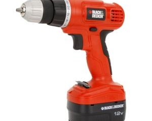 BLACK & DECKER 12-Volt Ni-Cad 3/8 in. Cordless Drill with Soft Grips