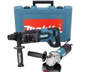 Makita 1 in. SDS-PLUS Rotary Hammer with Free 4-1/2 in. Angle Grinder